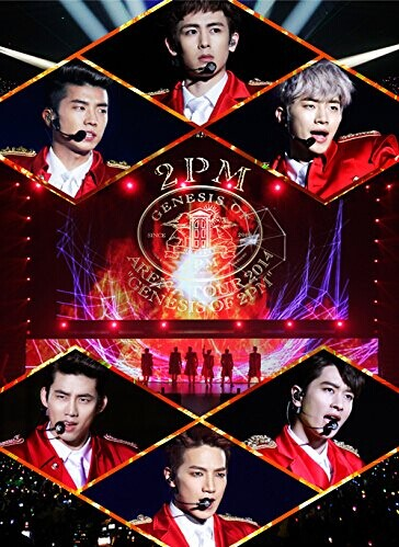 "[DVD] 2PM ARENA TOUR 2014 ""GENESIS OF 2PM"